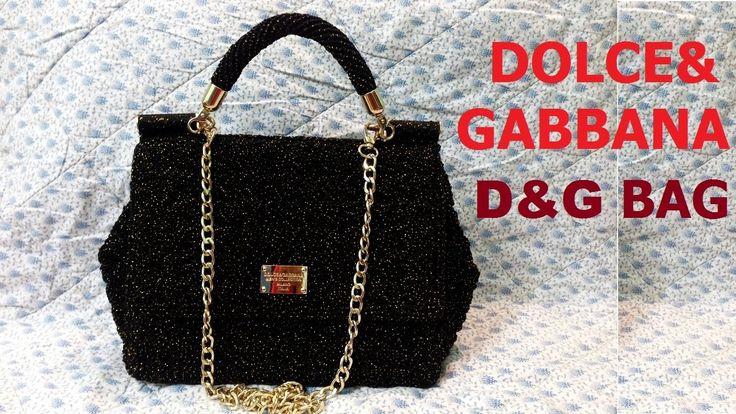 How to crochet Bag Dolce&Gabbana - Hướng Dẫn móc túi xách D&G