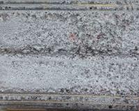 Grå kraterglasur m. karborundum