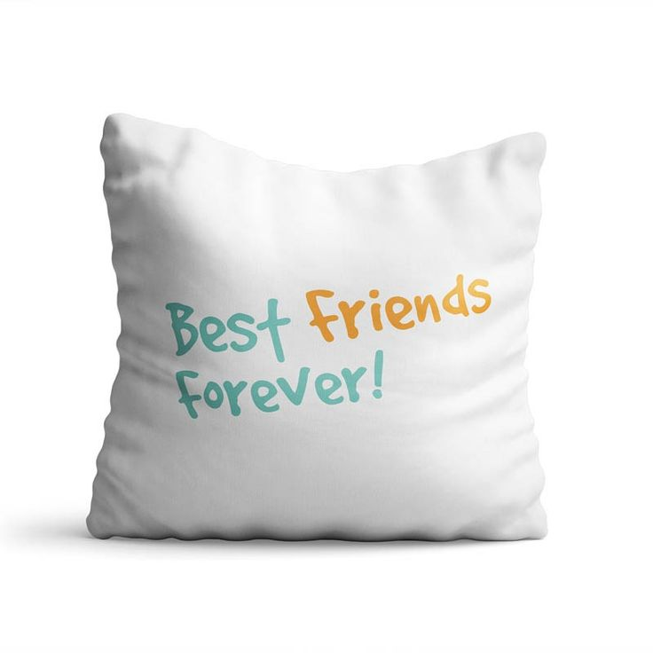 Perna decorativa Friends forever