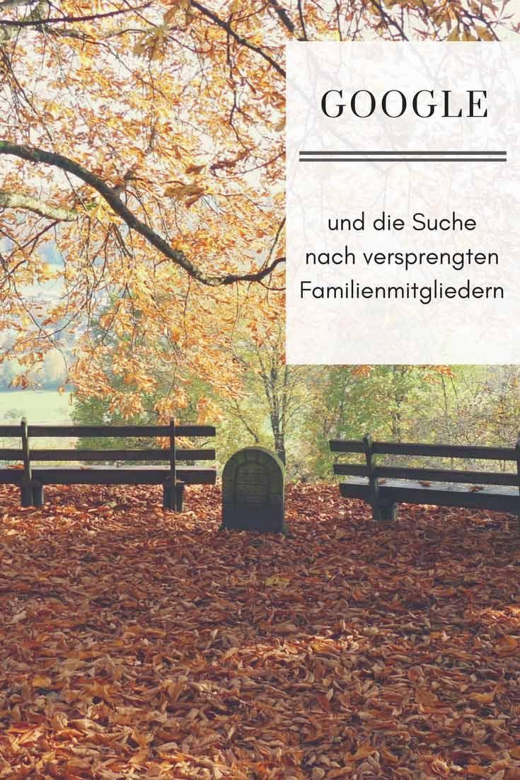 GOOGLE und die Suche nach versprengten Familienmitgliedern