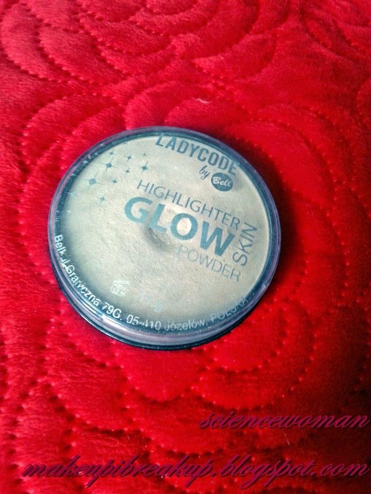 LADYCODE by Bell rozświetlacz highlighter glow skin