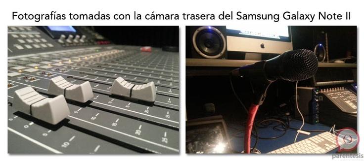 Esta es la calidad de la cámara de 8MP del Samsung Galaxy Note II.