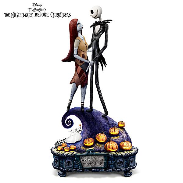 Nightmare Before Christmas Simply Meant To Be Figurine