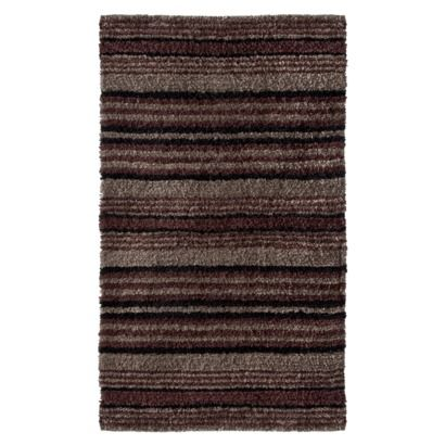 Thomas o39brienr bath rug black gray from target for Bathroom rugs at target
