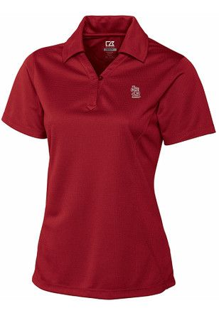 Cutter and Buck St Louis Cardinals Womens Red DryTec Genre Polo
