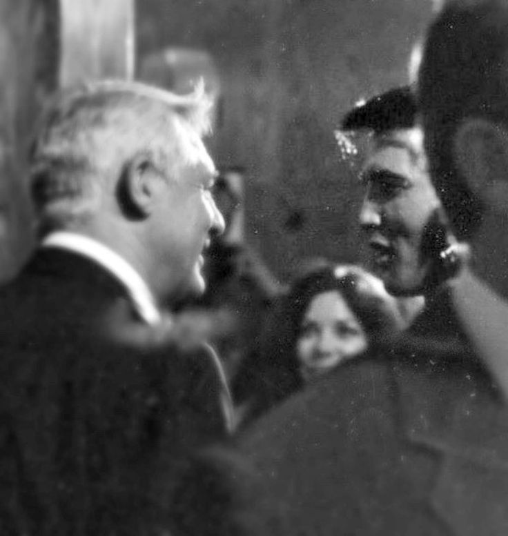 Cary Grant and Elvis Presley