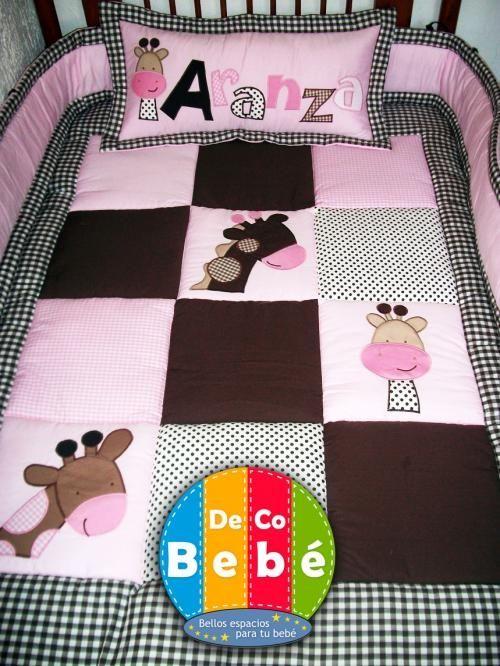 175 best colchas infantiles patchwork images on pinterest - Colchas patchwork infantiles ...