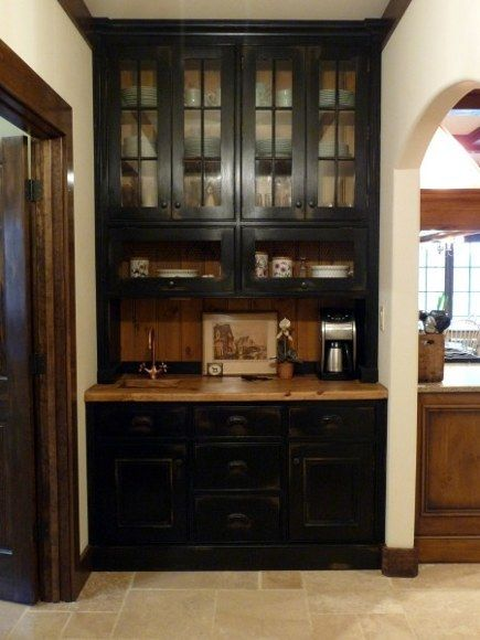 1000 Ideas About Black Hutch On Pinterest Black Painted
