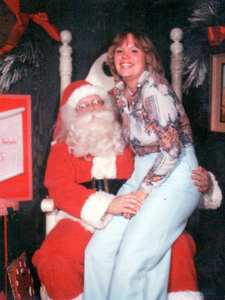 """Becky: """"Santa I can explain."""""""