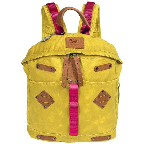 Will Leather Goods Backpack - Waxed Canvas, Large