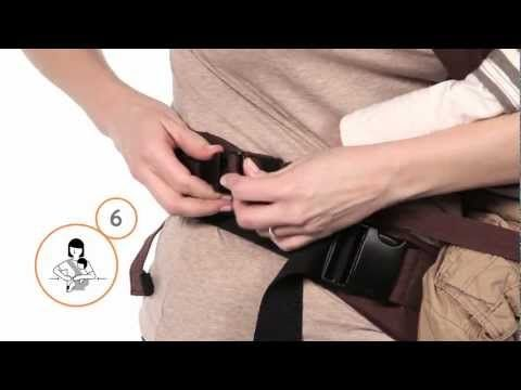 How To: Hip Carry #babywearing
