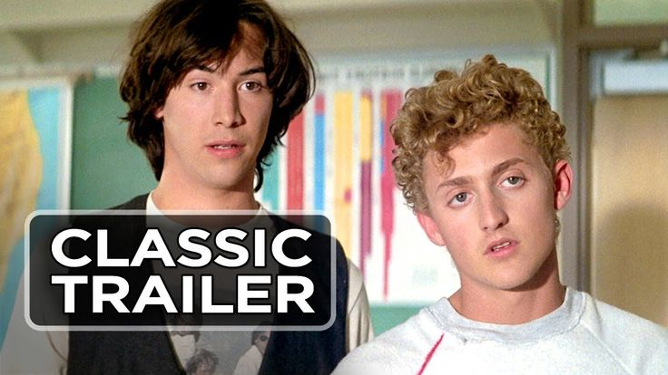 Bill & Ted's Excellent Adventure Official Trailer #1 - Keanu Reeves Movi...