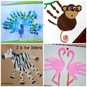 zoo-animal-handprint-crafts-for-kids.png 500×500 pixels