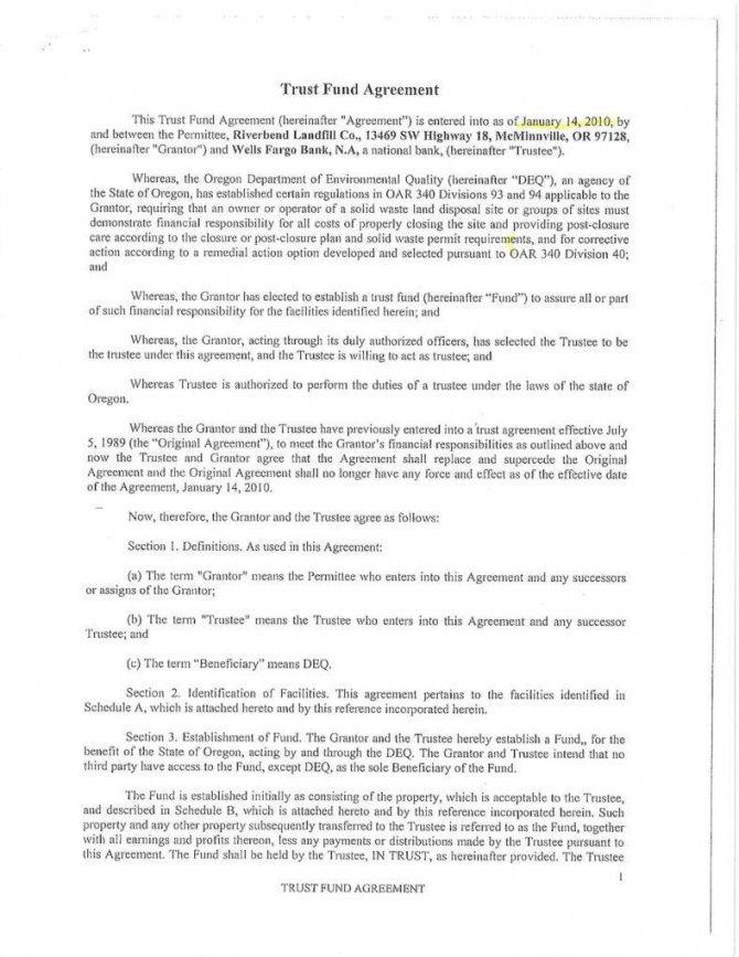 Editable 15 Trust Agreement Templates Pdf Word Free Amp Amp