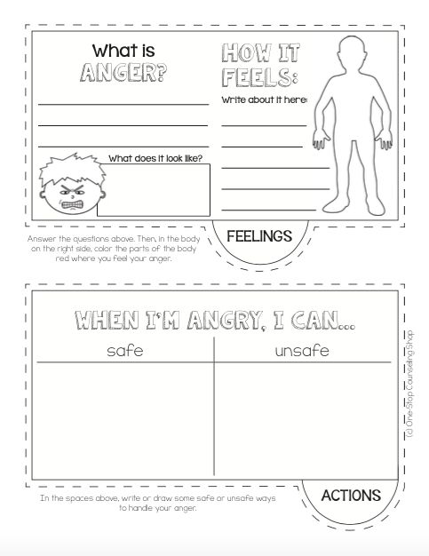 #Anger Management Tab Book!