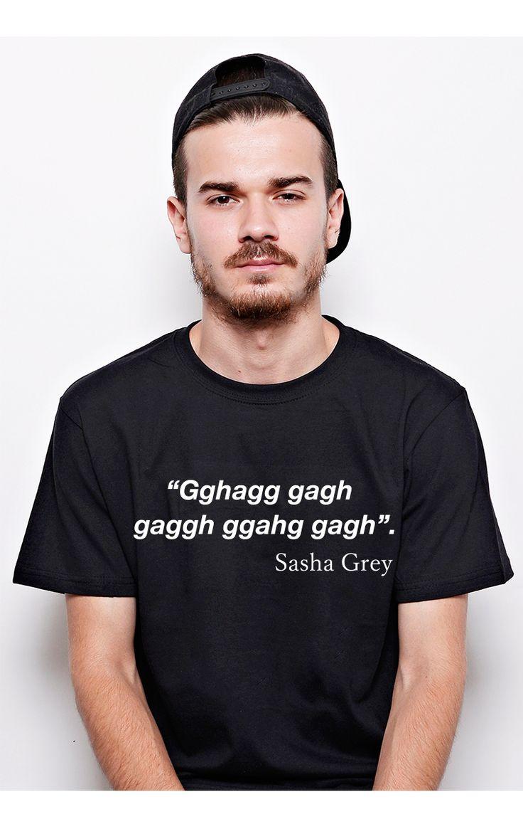 Tricou #ruvix pentru cunoscatori Comanda aici -> http://ruvix.ro/produs/tricou-sasha-grey-gagh/