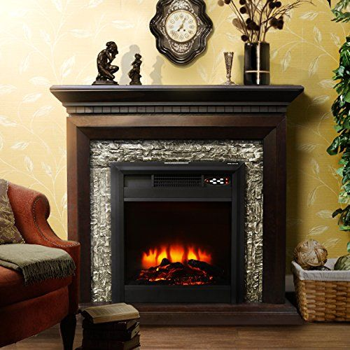 Xtremepowerus Large Room Grand 3d Flame Electric Fireplac Https