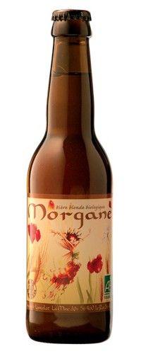 Cerveja Morgane, estilo Belgian Pale Ale, produzida por Brasserie Lancelot, França. 5.5% ABV de álcool.