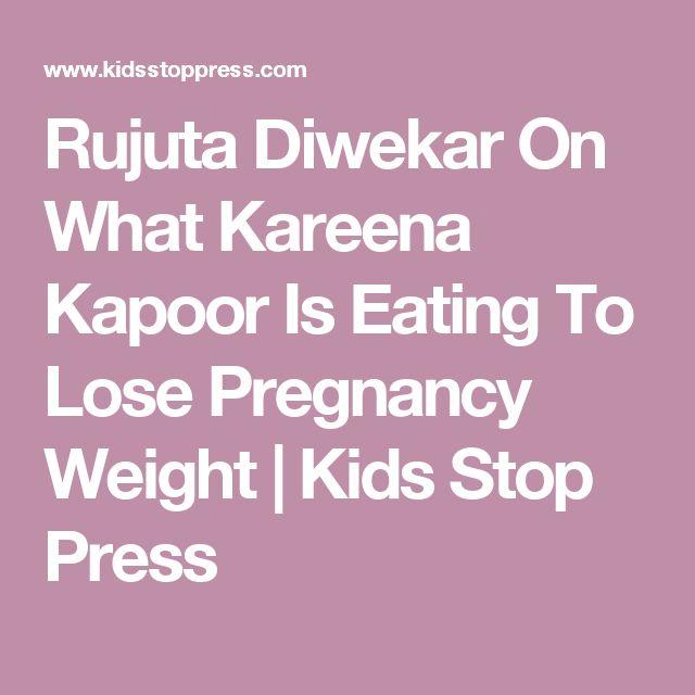 Rujuta Diwekar On What Kareena Kapoor Is Eating To Lose Pregnancy Weight | Kids Stop Press