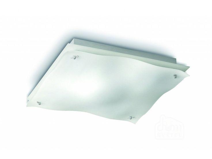 Výkonné stropní svítidlo Philips Tides 32614/31/16 22W. Štíhlé světelné vlny vycházející ze silného skleněného designu. Toto bílé, skleněné stropní svítidlo Philips Ecomoods vydává krásné hřejivé bílé světlo. Pokud toužíte po jednoduchosti, vysoce kvalitních materiálech a eleganci, našli jste přesně to, co hledáte.