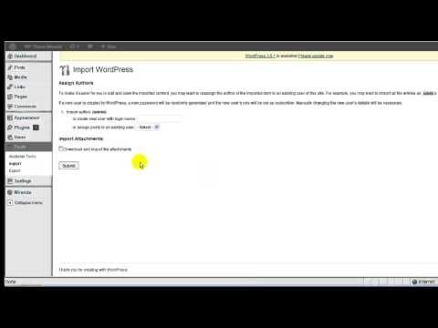WP Theme Miranda - XML Files - Video Tutorial #2