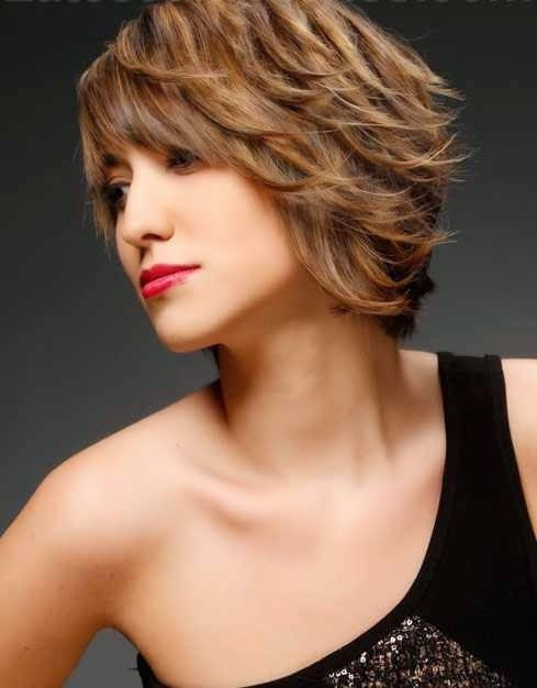 2015 layered haircuts short