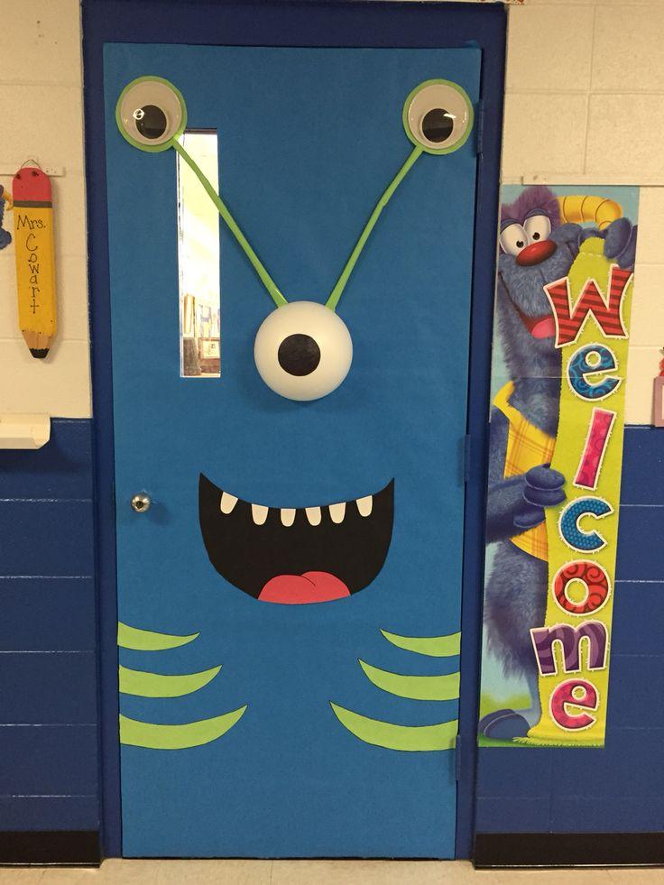 Monster deur