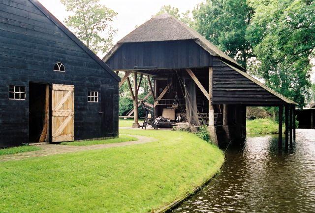 Idfarm Latest, Farms, Black Barns, Holland, Boats House, Blog Today, Black Workshop, Bridges, Outdoor Area