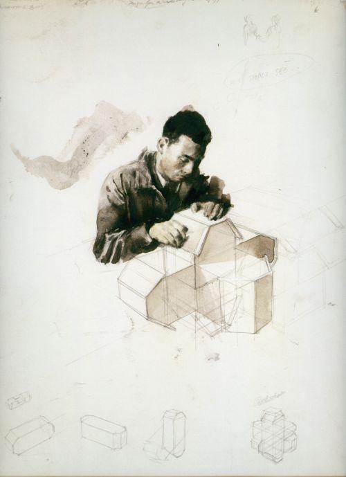 Michaël Borremans - The Rotator, 2003