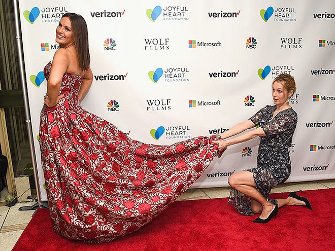 Star Tracks: Friday, May 13, 2016 | FULL OF HEART | A super-glamorous Mariska Hargitay, who serves as President and Founder of the Joyful Heart Foundation, attends the organization's gala with fellow actress Alexandra Wentworth on Tuesday in N.Y.C.