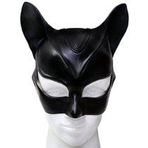 XCOSER Adult Catwoman Mask and Ears Helmet Costume Accessories for Halloween  Halloween Galaxy