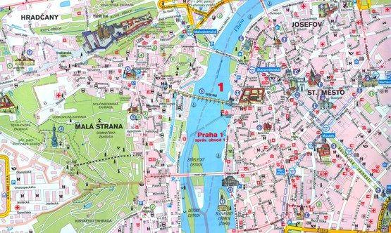 Mapas de Praga para descargar