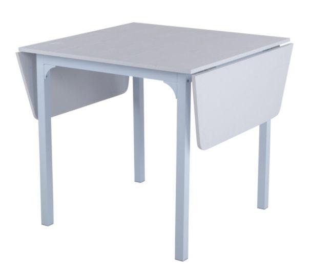 But Table Avec Allonges Lisa Blanc 59 99 Longeur 80 140 Cm