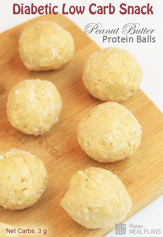 Peanut Butter Protein Balls - great low carb snack that fills you up and keep you going with energy.