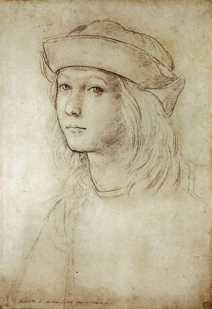 Adolescent self portrait