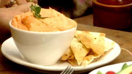 Tartinade fromagée de poivrons grillés / Tirokafteri - Recettes - À la di Stasio