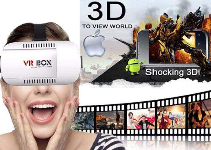 3D Γυαλιά Εικονικής Πραγματικότητας VRBOX Για Smartphones 4.7