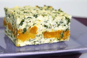 Roast Pumpkin & Spinach Pie