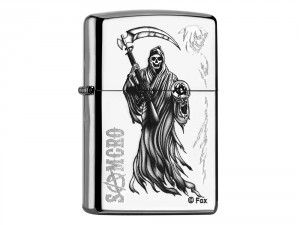 Buy Zippo Sons Of Anarchy Samcro online at low price at wegetpersonal.co.uk. An engraved and personalised zippo lighter UK is a perfect gift, so buy today! It will be delivered to you without fuel. #personalisedzippo #engravedzippo #ZippoReplica #ZippoSonsOfAnarchySamcro