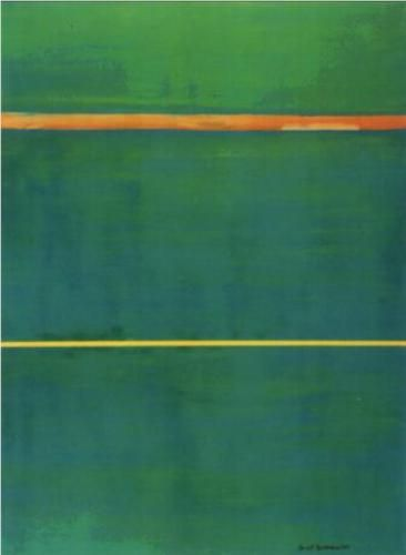 Barnett Newman (1905-1970). Barnett Newman was an American artist. He is seen as one of the major figures in abstract expressionism and one of the foremost of the color field painters.