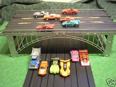 1970-Now 7318: Steel Ho Slot Car Train 6-Lane Bridge For Aurora,Tyco.. -> BUY IT NOW ONLY: $69.95 on eBay!