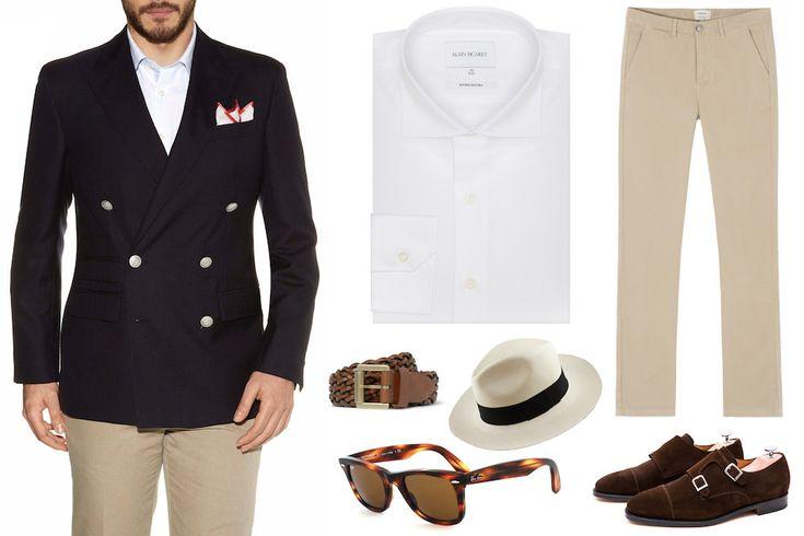 Comment s'habiller pour aller aux courses hippiques ? Look homme