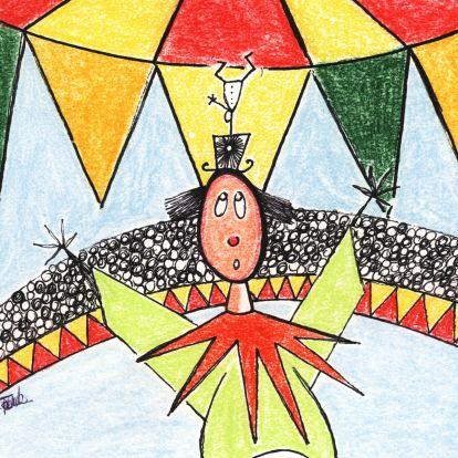 Uitnodigingen - Circus