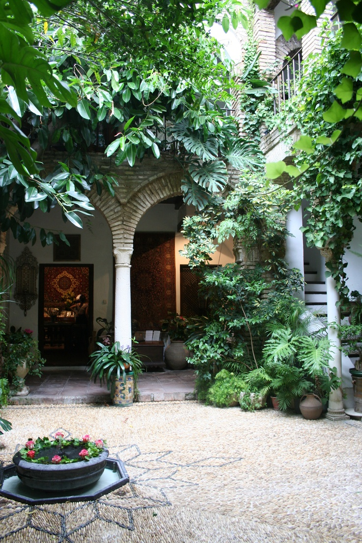courtyard houses cordoba spain beautiful courtyard