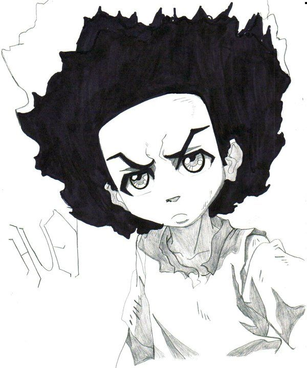 Huey Freeman Girl Version | Huey Freeman By Trunks24 | Boondocks | Pinterest | Girls And Art