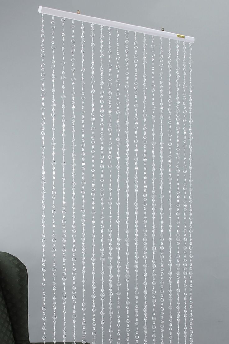 Ha hanging bead curtains for doorways - Non Iridescent Crystal Beaded Curtain Accent On Hautelook