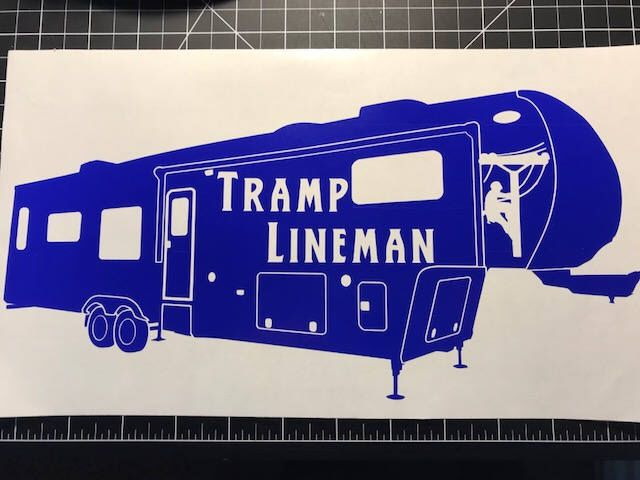 Lineman Journeyman Linemen Skeleton Electrician License Plate Car Truck Tag
