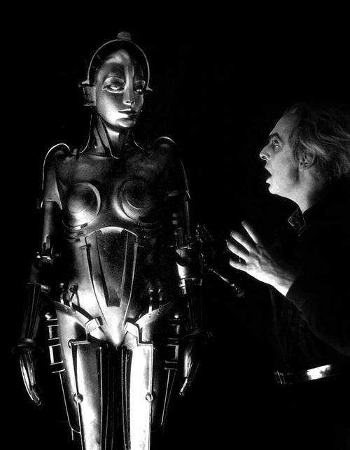 """""""Maschinenmensch"""", Metropolis (Fritz Lang, 1927)"""