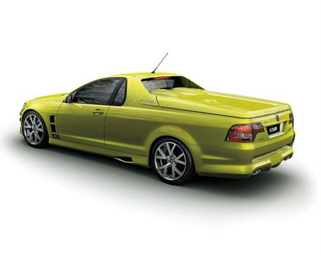 HSV Maloo R8.  I've always been part car guy, part truck guy... loving El Caminos and Subaru Brats growing up.  The Maloo is the car/truck (Ute?) that I would kill for! Could some kind Aussie ship one to me please?  :)