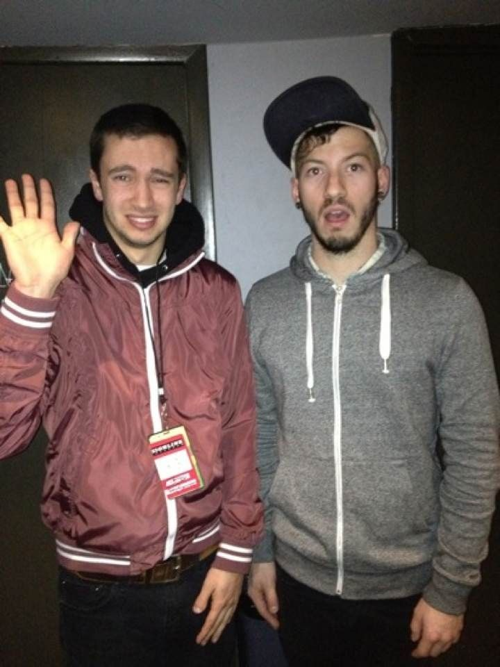 Twenty one pilots josh dun and tyler joseph deine for People s choice 65
